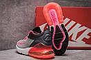 Кроссовки женские 13742, Nike Air 270, серые, [ 37 ] р. 37-23,0см., фото 4
