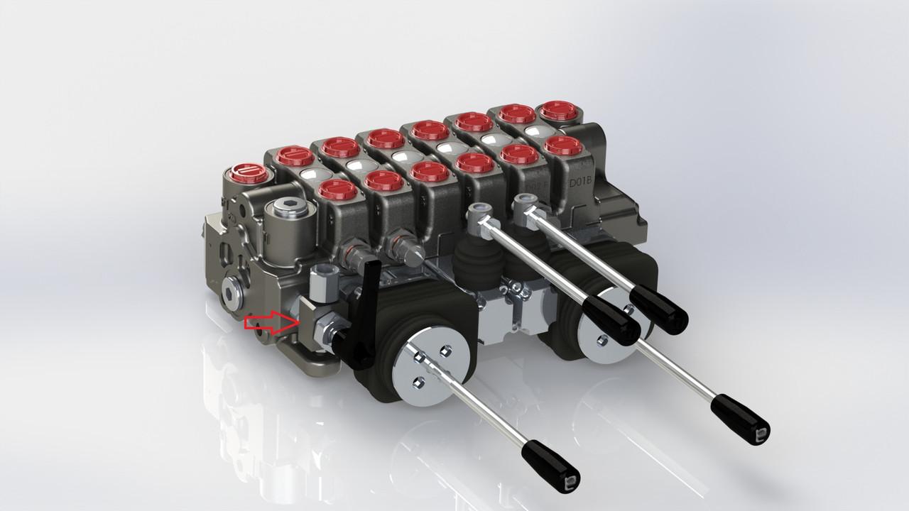Клапан гідравлічний KV 176 IL004 (розподільник)