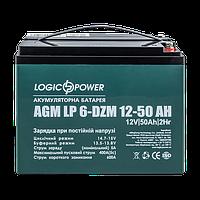 Тяговый свинцово-кислотный аккумулятор LP 6-DZM-50