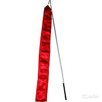 Лента гимнастическая (Цвет : красный)