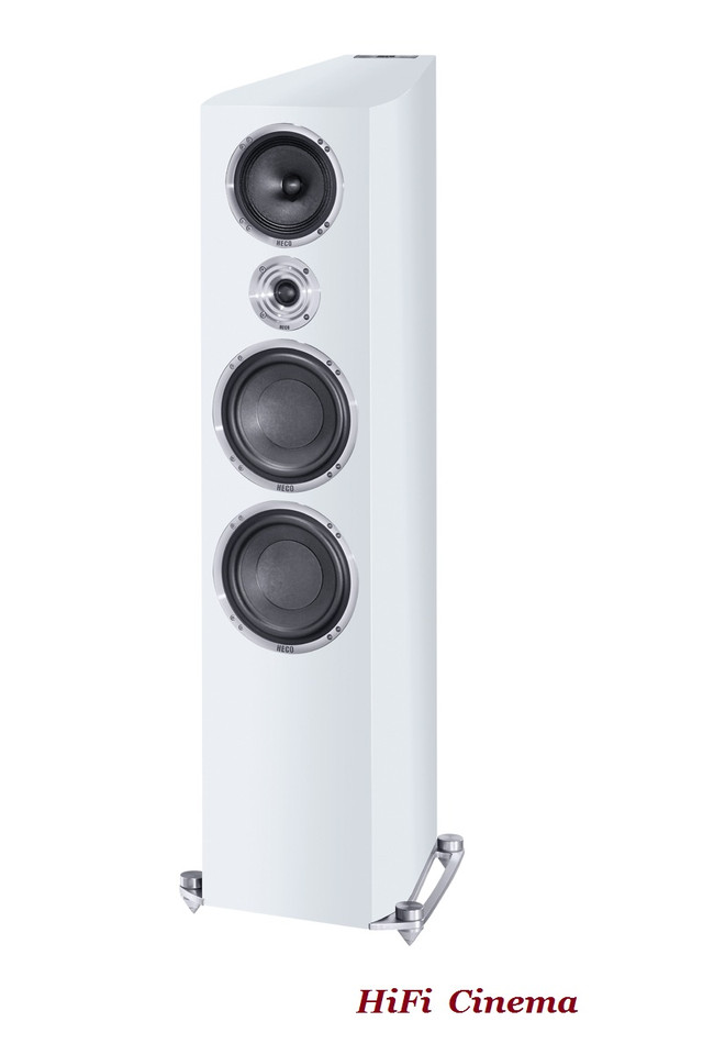 HECO Celan Revolution 9 White Satin - without grill - 1