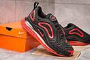 Кроссовки мужские 15252, Nike Air Max, черные, [ 44 45 ] р. 44-28,2см., фото 5