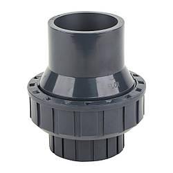 Обратный клапан ПВХ ERA пружинный диаметр 20 мм