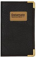 """Визитница на 160 карт  к/зам """"Datamate"""" мет.уг. /56/"""