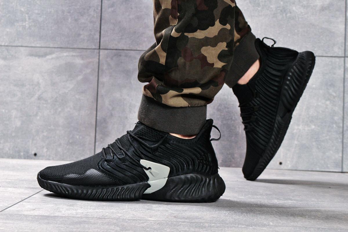 Кроссовки мужские 16191, Adidas Bounce, черные, [ 44 45 ] р. 44-28,5см.