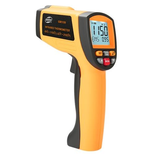 Пирометр инфракрасный бесконтактный -30~1150℃ GM1150 BENETECH