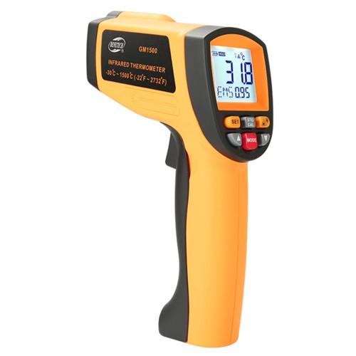 Інфрачервоний пірометр безконтактний -30~1500℃ GM1500 BENETECH