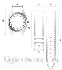 Кожаные ремешки для часов ручной работы,ремешок для часов натуральная кожа, фото 2