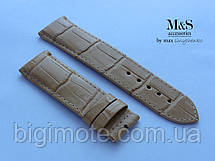 Кожаные ремешки для часов ручной работы,ремешок для часов натуральная кожа, фото 3