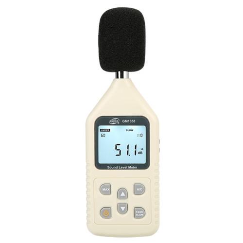 Шумомер A/C (30 - 130 dB) GM1358 BENETECH