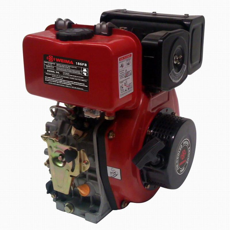 Двигатель дизельный Bulat BT186FЕ-T (вал ШЛИЦЫ), диз 9 л.с., Эл/ст
