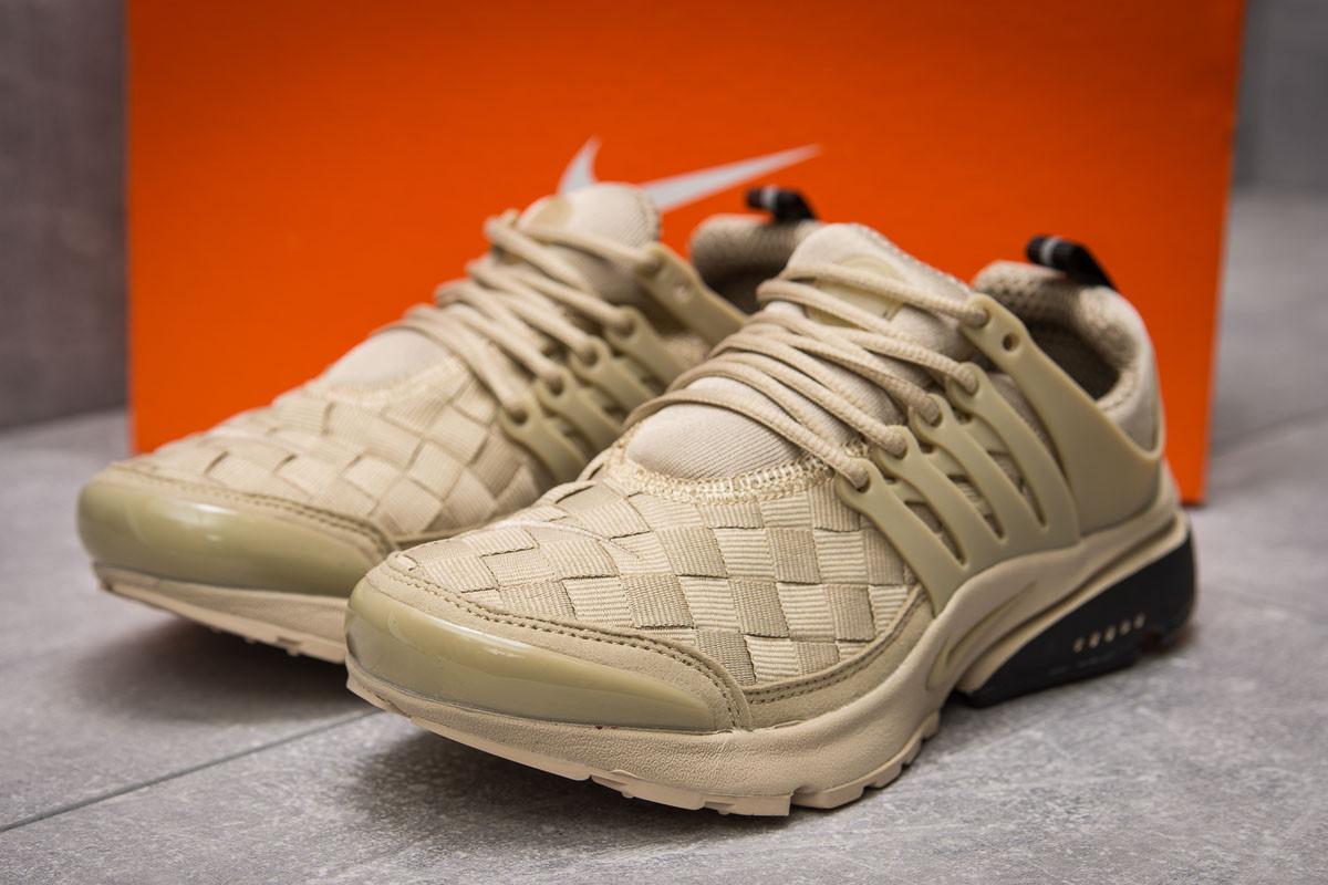 Кроссовки женские 11077, Nike Air Presto, бежевые, [ 39 ] р. 39-24,5см.