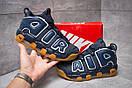 Кроссовки мужские 13919, Nike More Uptempo, синие, < 41 42 43 44 > р. 41-25,8см., фото 2