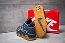 Кроссовки мужские 13919, Nike More Uptempo, синие, < 41 42 43 44 > р. 41-25,8см., фото 4