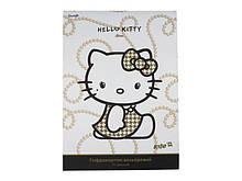 Гофрокартон кольор. (10л/10цвет.) A4 Hello Kitty D /1/100//