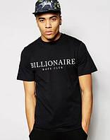 Черная футболка в стиле Billionaire Boys Club