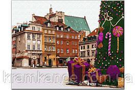 Картина по номерам Новорічна Варшава GX33176, Rainbow Art