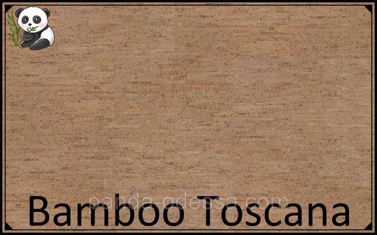Пробковые панели (обои) Bamboo Toscana TM Wicanders 600*300*3 мм