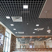 Потолок  Грильято 75х75 белый, фото 2