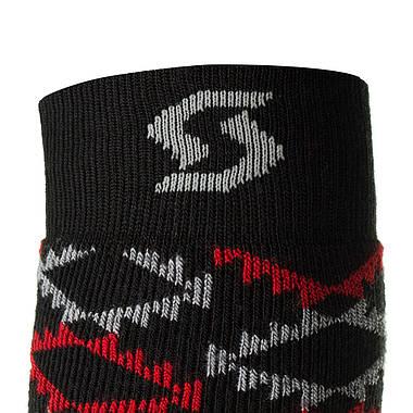Шкарпетки лижні Scott Snake Run XL Black-Red, фото 3
