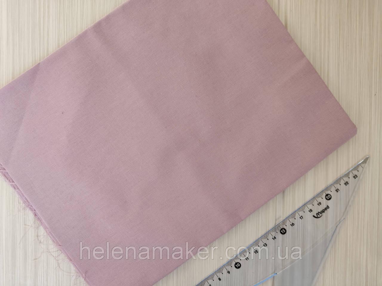Отрез ткани однотонный Светло-сиреневый. Размер отреза 50*50 см