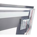 Зеркало с подсветкой и антизапотеванием Q-tap Mideya LED DC-F609 1000*600, фото 5