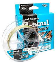 Шнур YGK Super Jig Man X4 200m #0.6/12lb