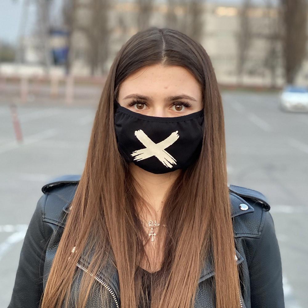 Защитная маска черная OFF