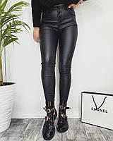 Женские стильные брюки из эко-кожи, фото 1