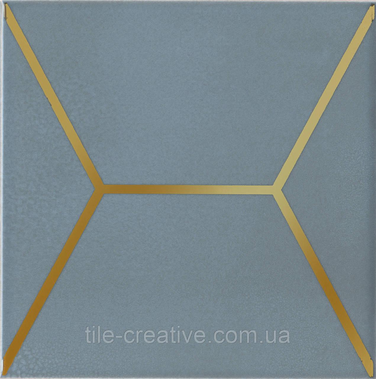 Керамічна плитка Вітраж блакитний 15x15x6,9 OP\E181\17067