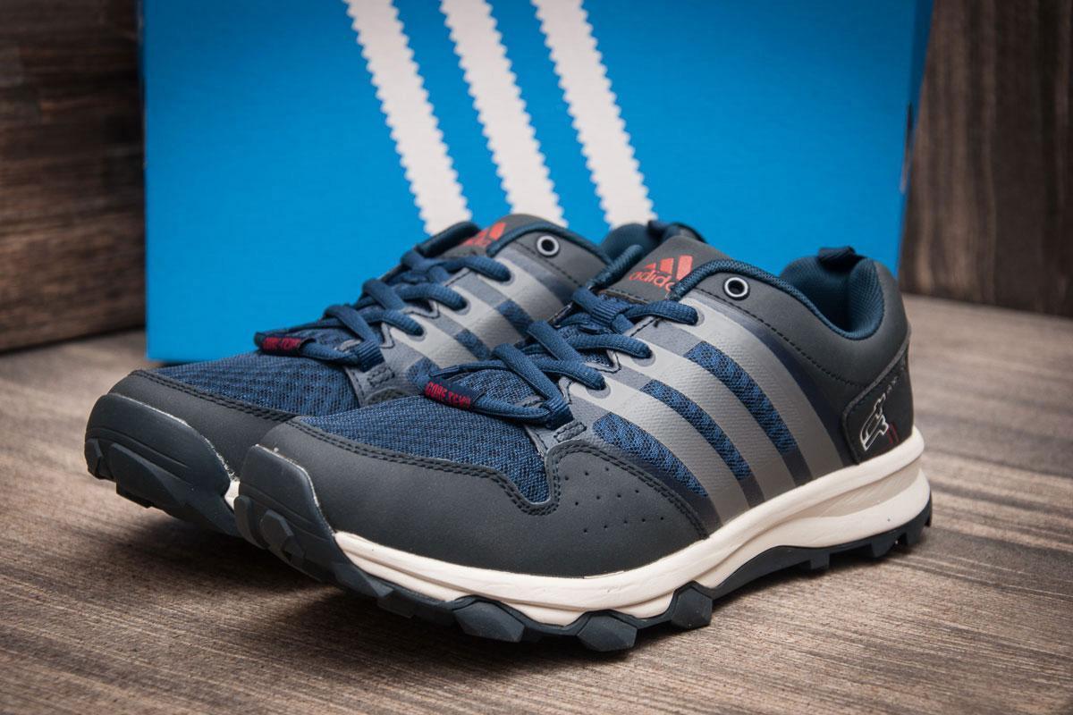 Кроссовки мужские 11345, Adidas Terrex Gore Tex, темно-синие, < 43 > р. 43-27,0см.