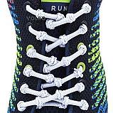 Шнурки для обуви с узелками эластичные VOLRO Белый (vol-501), фото 2