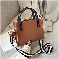 Женская кожаная сумка. Модель 445, фото 5