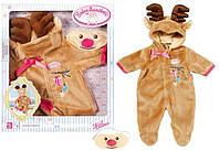 Одежда для куклы Беби Анабель Baby Annabell костюм оленя Zapf Creation 701157, фото 1