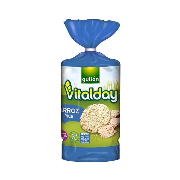 Хлібці GULLON рисові Tortitas Arroz sin Gluten 130 г, 12 шт/ящ