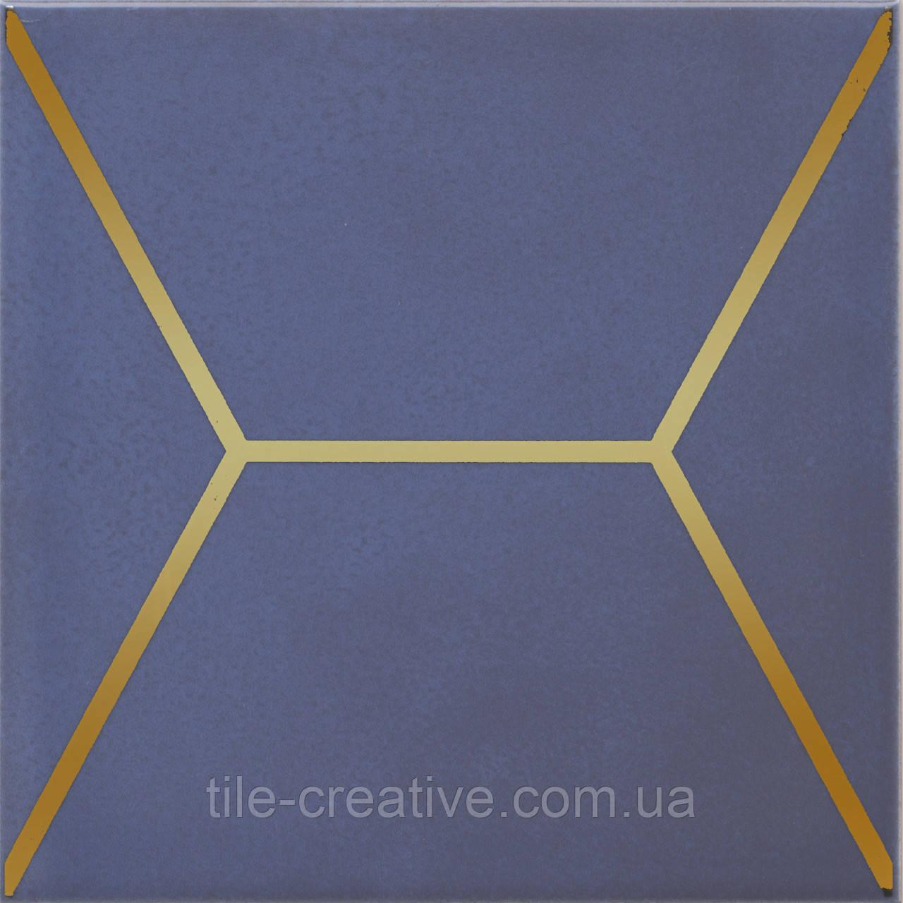 Керамическая плитка Вітраж жовтий 15x15x6,9 OP\B181\17064