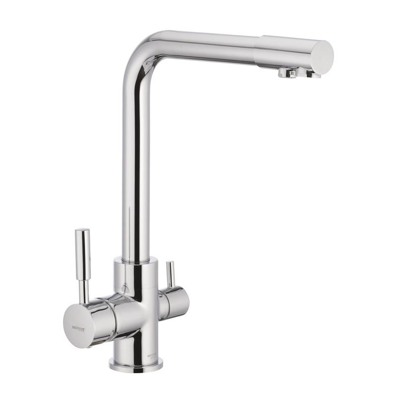 Кухонный смеситель на две воды MIXXUS Premium Hans 021 (MI1666)