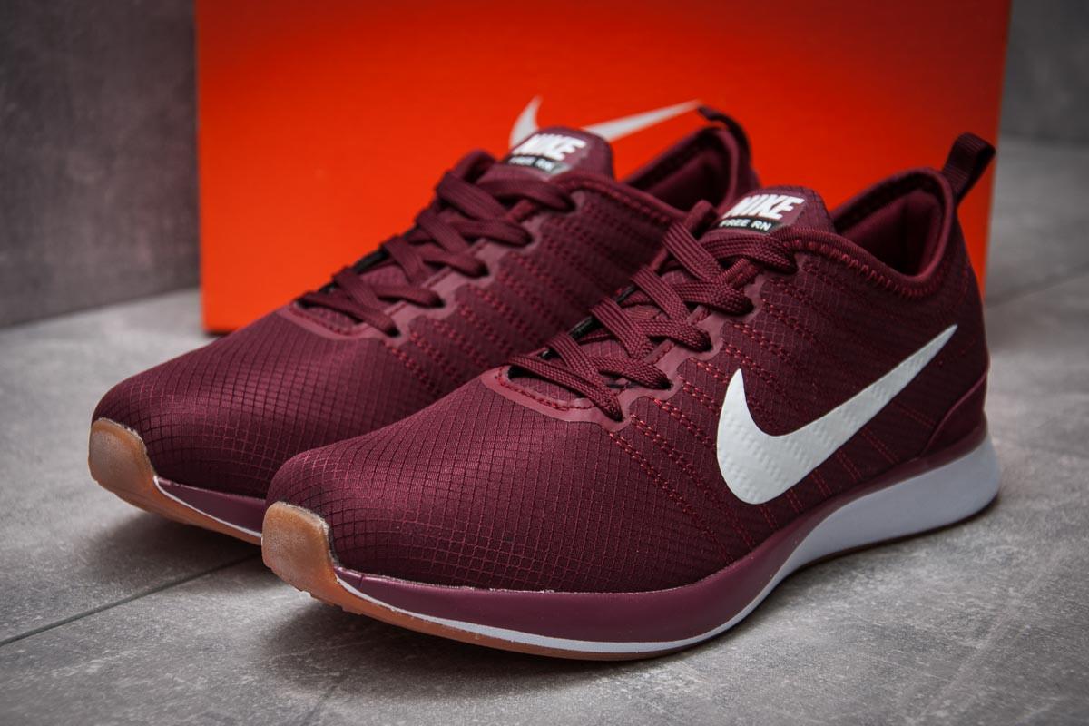 Кроссовки мужские 12571, Nike Free RN, бордовые, [ 42 ] р. 42-27,3см.
