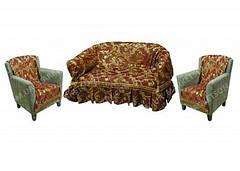 Комплекты покрывал Двухспальные Диван и два кресла. Шенилл