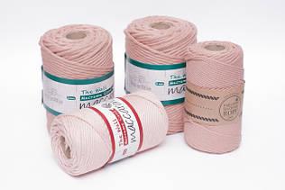 Эко шнуры для вязания и плетения Maccaroni