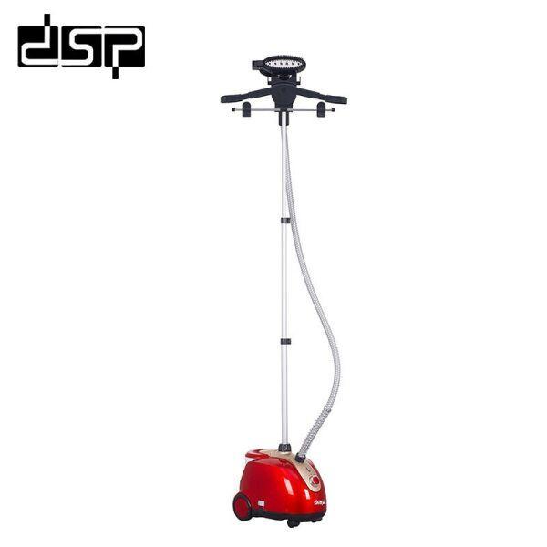 Отпариватель паровой утюг DSP KD-6015 Красный, 1800DВатт, 1,6 литра