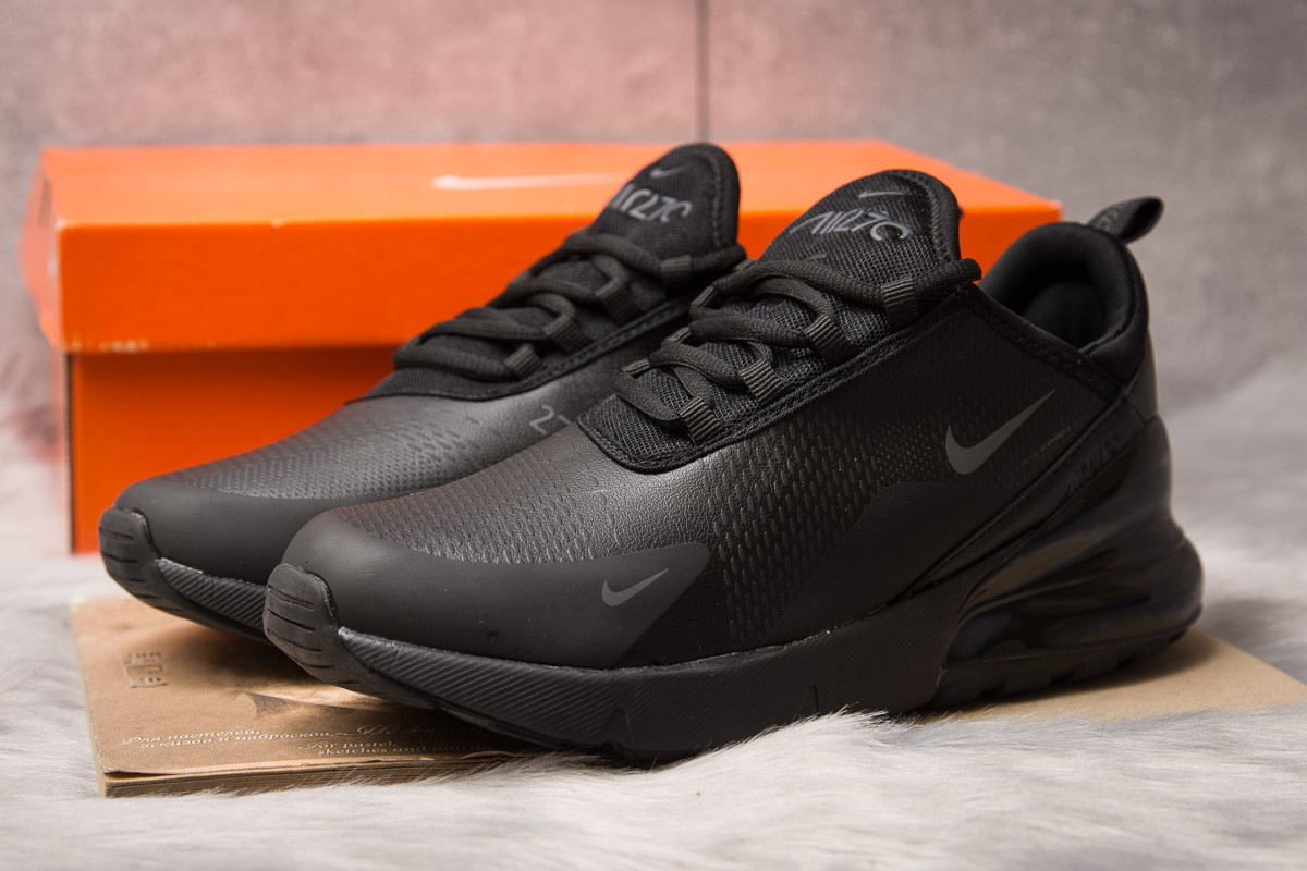 Кроссовки мужские 15303, Nike Air 270, черные, [ 43 ] р. 43-27,5см.