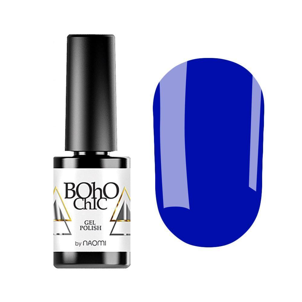 Гель-лак для ногтей Naomi Boho Chic BC090 Синий, 6мл