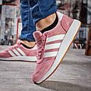 Кроссовки женские 15432, Adidas Iniki, розовые, [ 37 39 41 ] р. 37-23,0см., фото 4