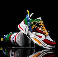 Кроссовки разноцветные унисекс ABO