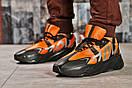 Кроссовки мужские 15523, Adidas Yeezy 700, оранжевые, [ 41 42 43 44 ] р. 41-26,5см., фото 2