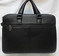 Мужской кожаный деловой портфель., фото 1