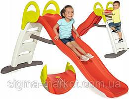 Детская горка Smoby - Funny Slide 200 см УФ покрытие 820402