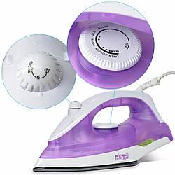 Паровой утюг DSP KD1002 1500 Вт Белый/Фиолетовый