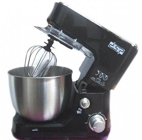Миксер кухонный DSP KM3030 1000 Вт с чашей из металлу 5 л Черный (mix1)